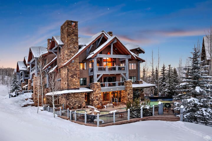 4BR Platinum Rated Ski-in/Ski-Out Bear Paw Lodge - Beaver Creek - Wohnung