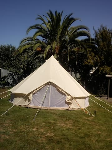 Glamping Bell Tent Large 19SQM floor space