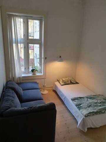 Cozy room, cozy flat . Wellcome