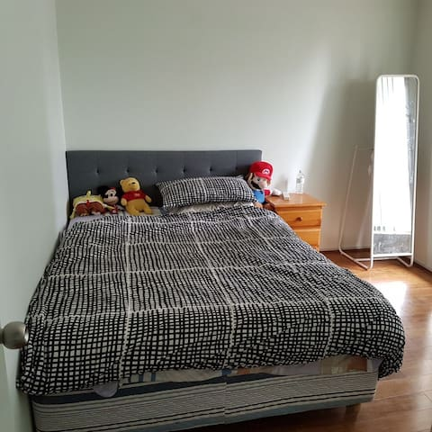 Affordable private room near city - Pascoe Vale - Casa