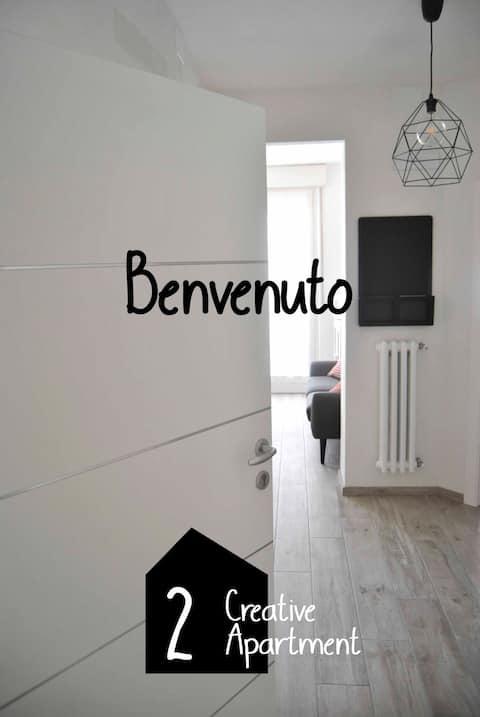 Creatief appartement eenvoudig