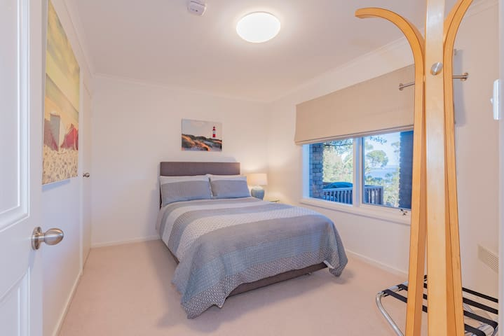 Bedroom 2 with a quality double bed and luxurious bed linen for a wonderful sleep.