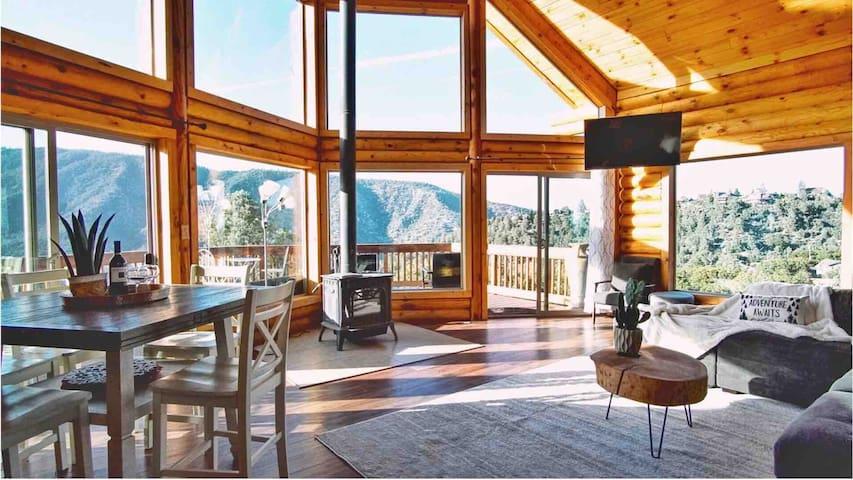 Cozy Cabin Rental in Pine Mountain Club California