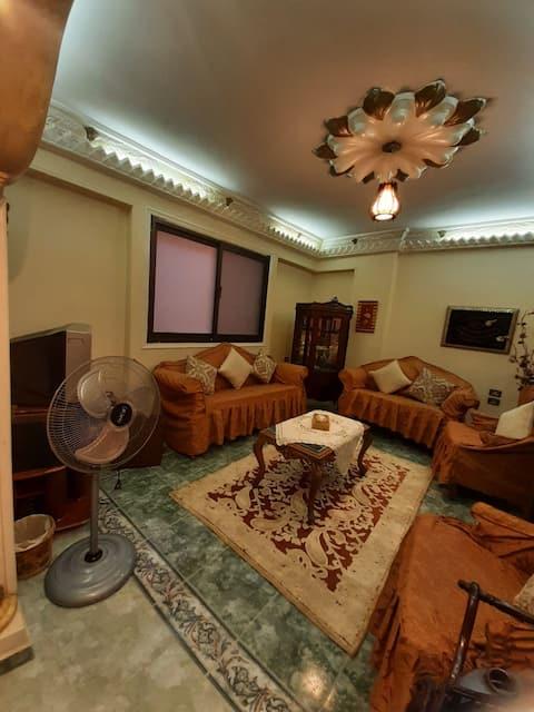 A cozy home in the heart of Qawmeya area in Zagazig City