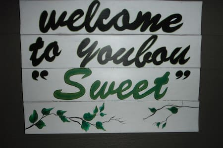 "Welcome to Youbou ""Sweet"""
