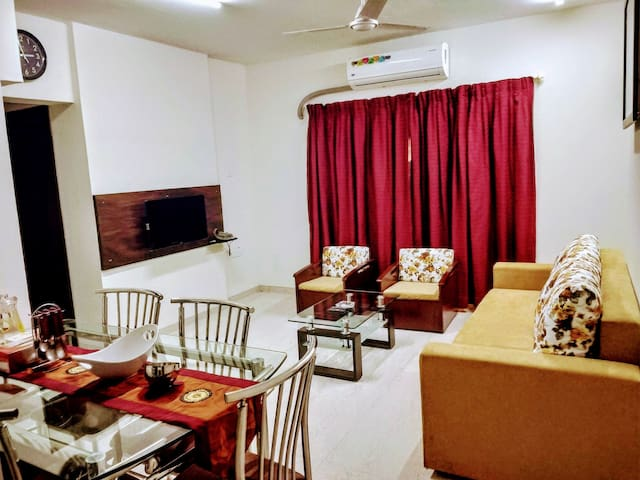 BLISS 05: SANITISED 2BHK SERVICED APT-ANDHERI WEST