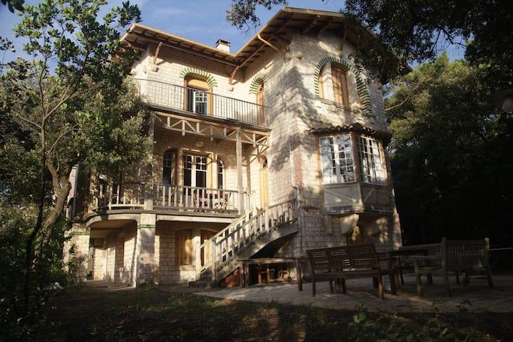 Villa Belle Epoque exceptionnelle, face à l'Océan