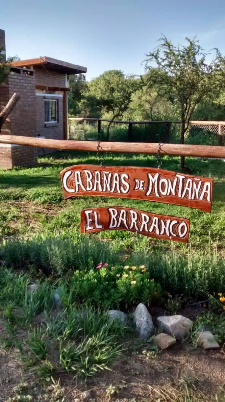 Cabañas de montaña El Barranco 1 verde