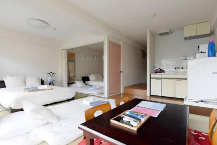 2min Sta.NearShinjuku good location/FreeWi-Fi/1001