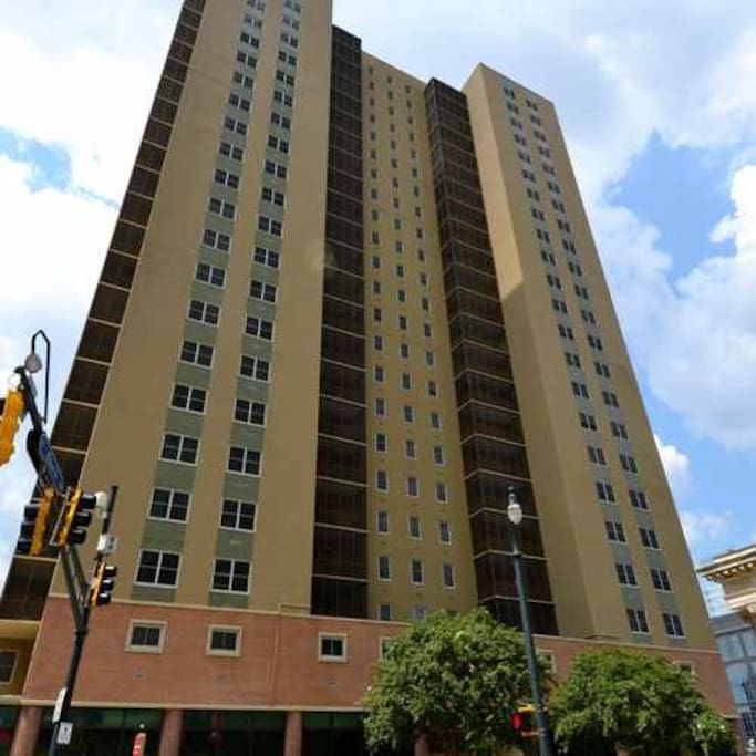 Peachtree Towers; this unit is in this building.