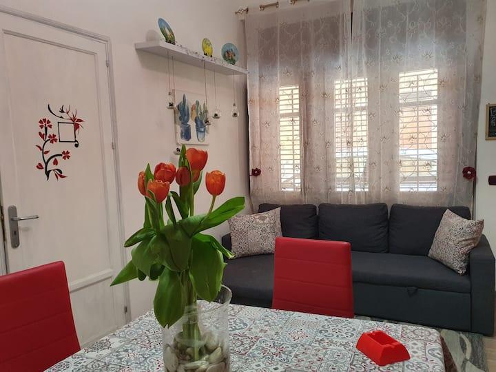 Appartamento accogliente, colorato e confortevole.