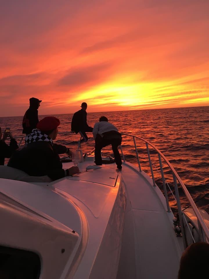 Epic California Sunset