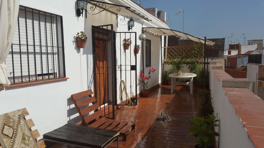 Oasis en pleno corazón de la ciudad - Sevilla - Loft