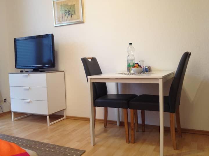 Gemütliches Apartment mit Südbalkon und Badewanne