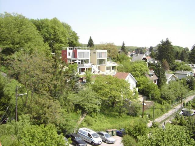 Architektenhaus im Grünen - Vienna - Rumah