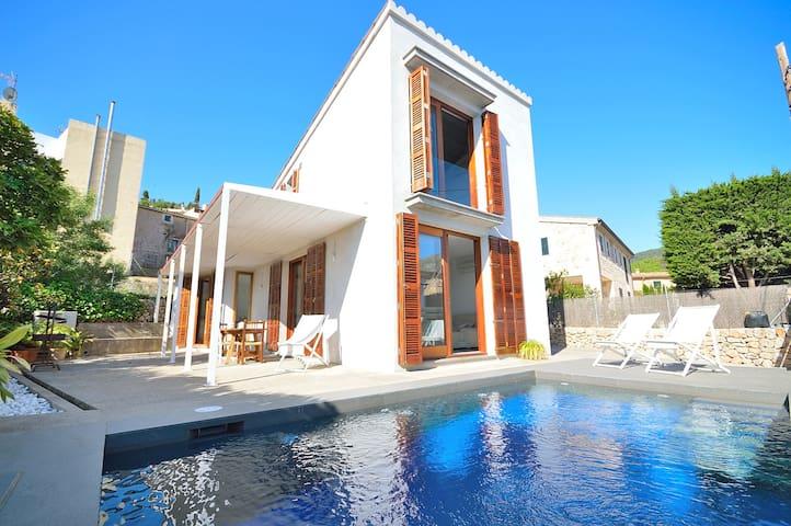 Townhouse with private pool (Can meneta) - Pollença - Villa