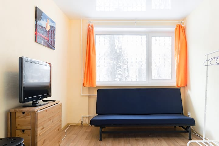 Уютная и чистая квартирка у метро! - Самара - Huoneisto