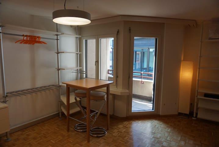 Wohnung mit eigenem Hauptbahnhof - Zürich - Lejlighed