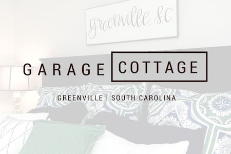 ☆The Greenville Garage Cottage☆ ♥Downtown♥Walkable