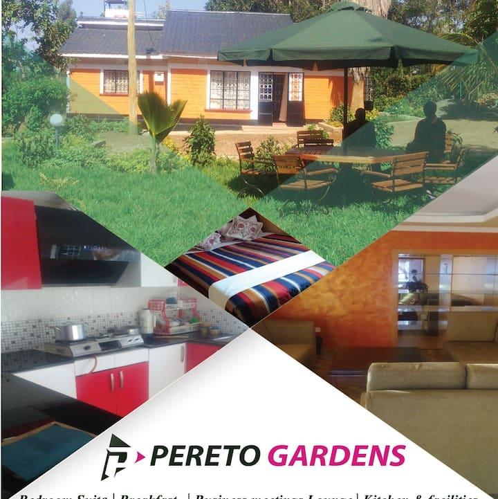 Pereto Gardens- Serene, Secure, Suburban Oasis.