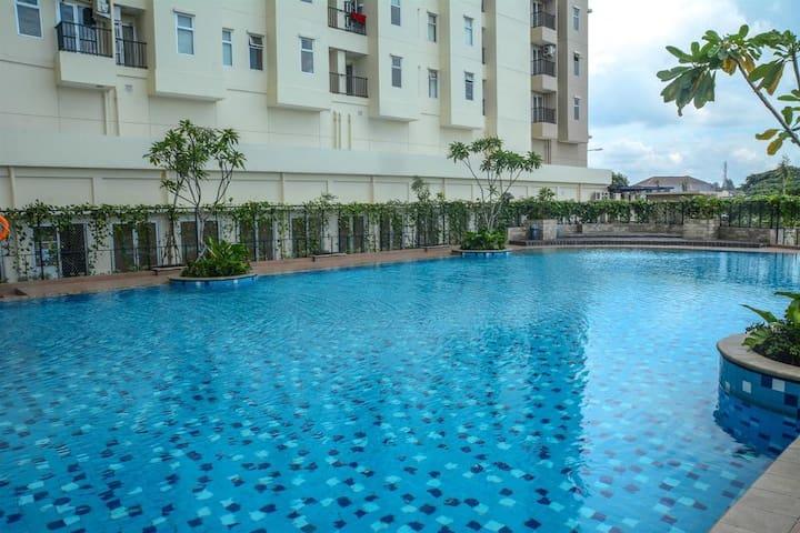 Apartment 2BR Furnished Nyaman,Aman,Strategis