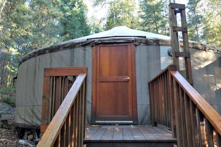 Eagle Yurt at Wilderness Wind