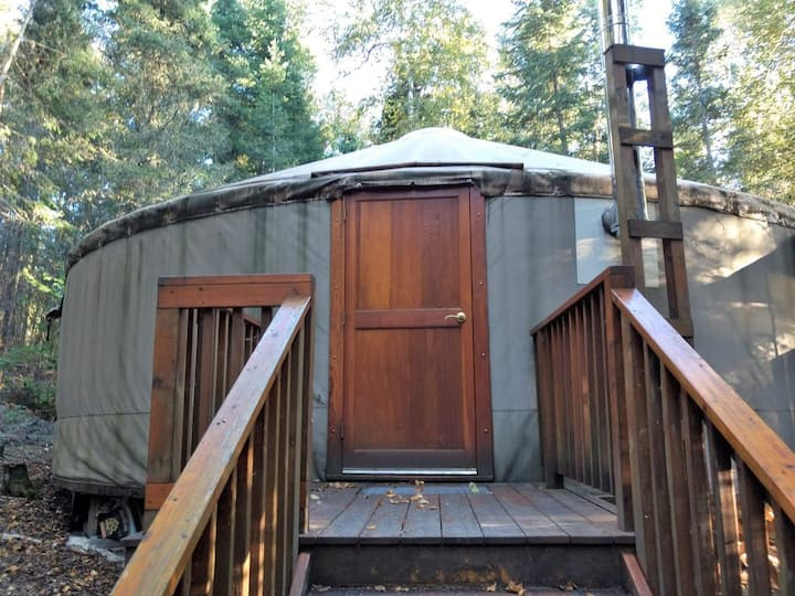 Eagle Yurt at Wilderness Wind