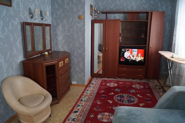 1-ком. Квартира в центре возле ЖД вокзала
