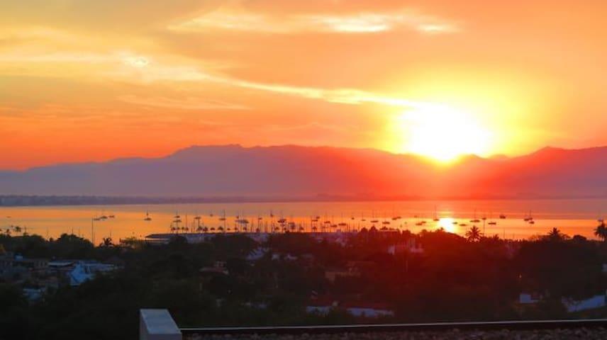 Alamar Ocean view condo - La Cruz de Huanacaxtle - Apartment