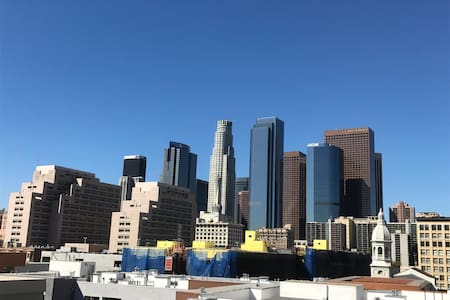 1Bdrm/1Bth Private Luxury Living in Heart of DTLA - 洛杉矶 - 阁楼