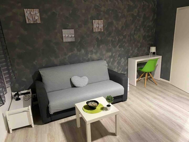 Studio cosy et moderne , proche Strasbourg centre