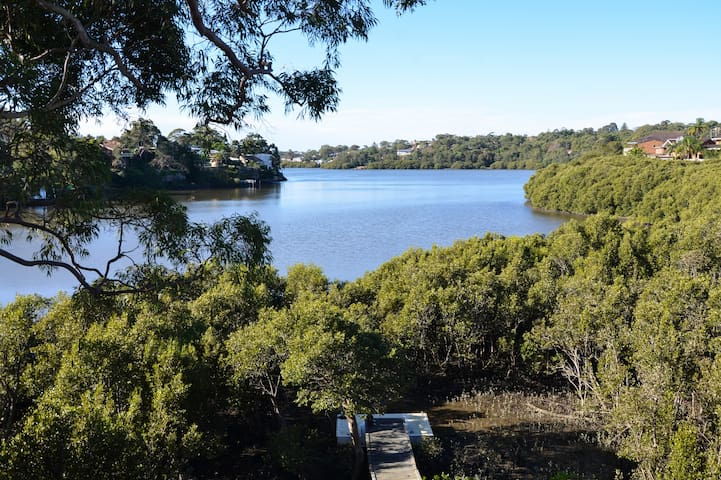 Leafy Waterfront Home Sydney Sth - Kareela