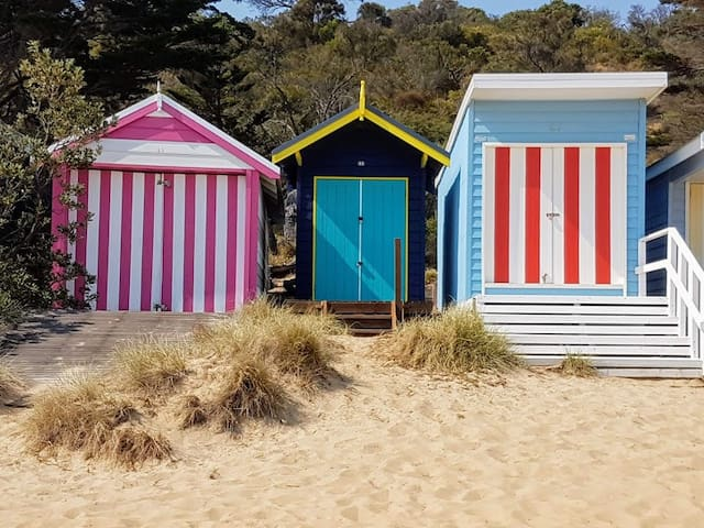 Mornington cosy winter beach getaway!