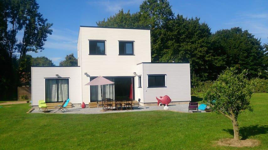 Villa Zencube à 20 mn de Deauville - Le Faulq - Вилла