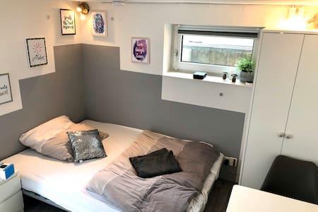 Neue 1-Zi-Souterrainwohnung mit Küchenzeile+Bad