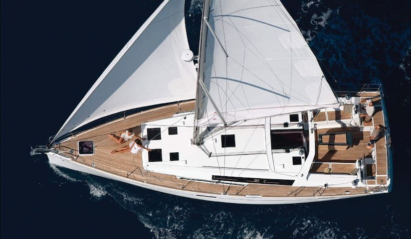 Luxury Sailboat - Whole Boat - 360 seaview - GR