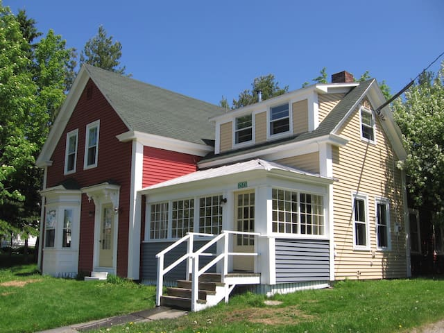 Center of Downtown Rangeley, Across from Lake/Park
