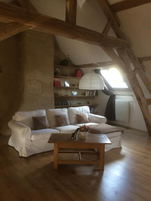 Maison de charme typique Bourguignonne