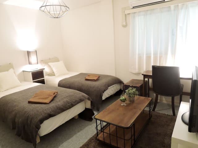 Namba, Osaka Station, Tennoji(206) - Osaka - Apartment