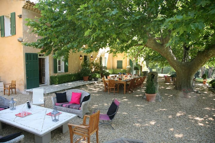 """St Julien"" - Provencal Country House - Large Pool - La Mole - Villa"