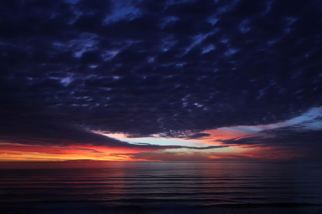 Sunset from Gentle Annie Beach