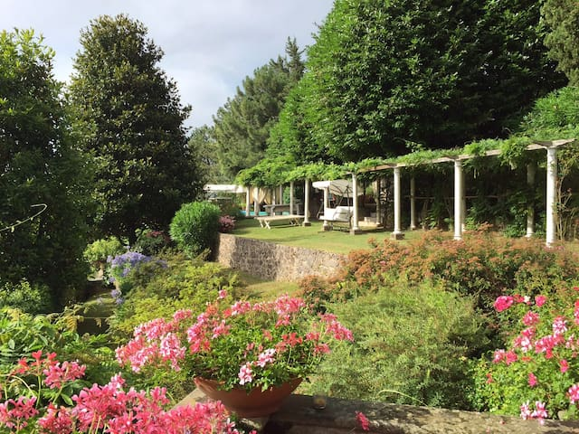 Charming Tuscan Villa with garden and pool - Capriglia - Willa
