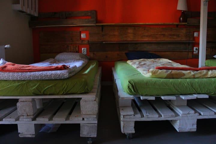 Zen Boutique Hostel beds