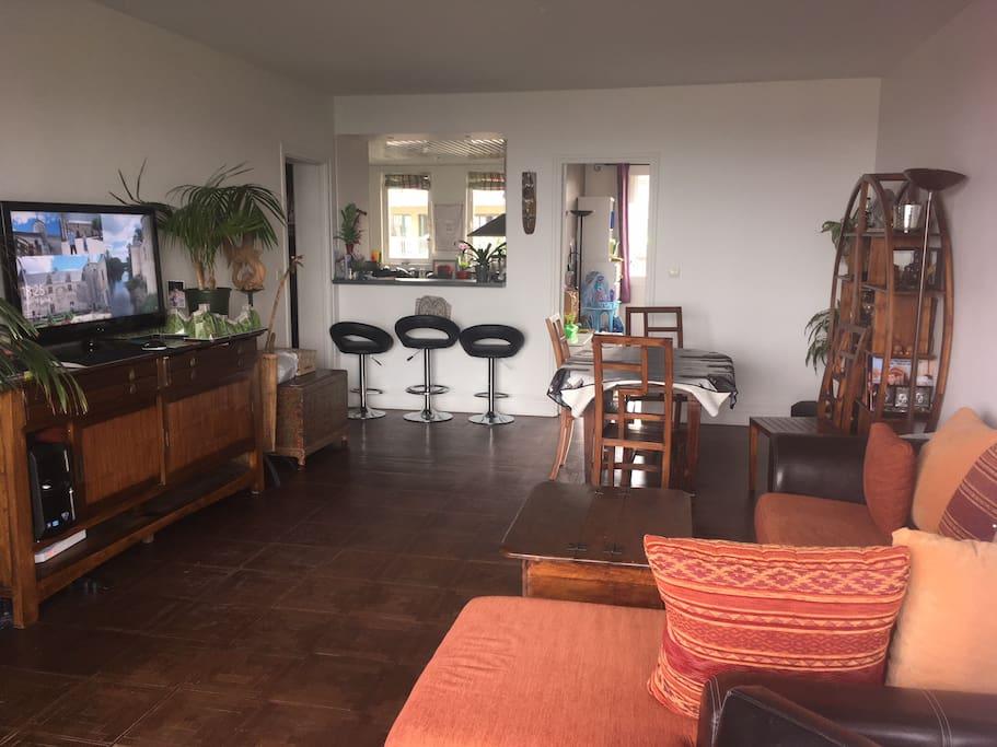 living room from veranda
