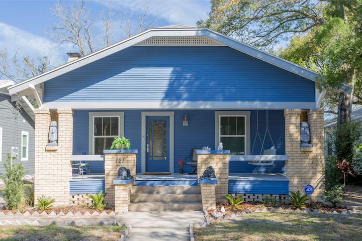 My beautiful blue house