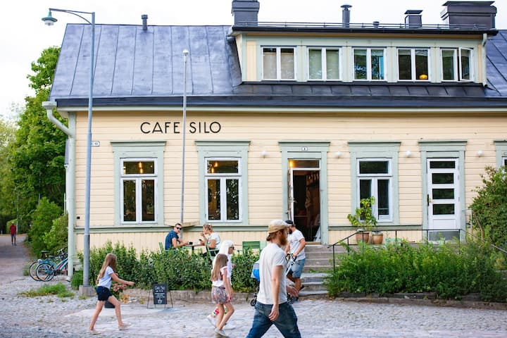 Villa Silo - an adorable apartment at Suomenlinna