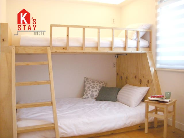 [K's Stay]@Hongdae/Cozy women only private room