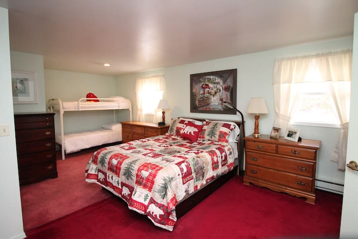 Master Bedroom with private bath on 3rd level.