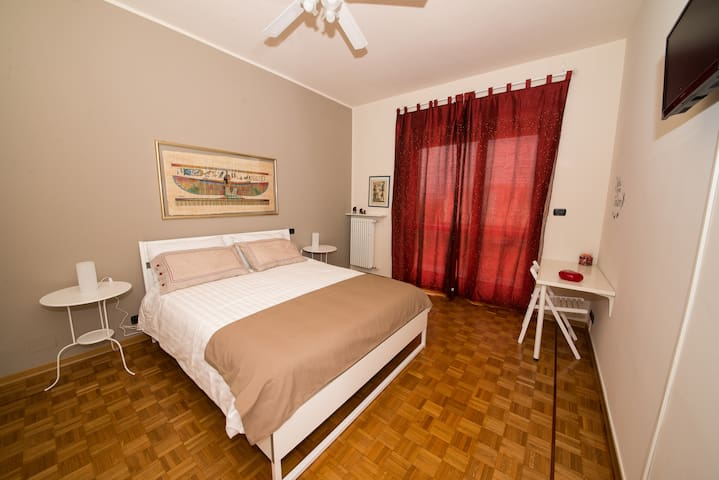 CaioMarioHome-FreeWifi+Parking+Views+Disabled - Torino - Huoneisto