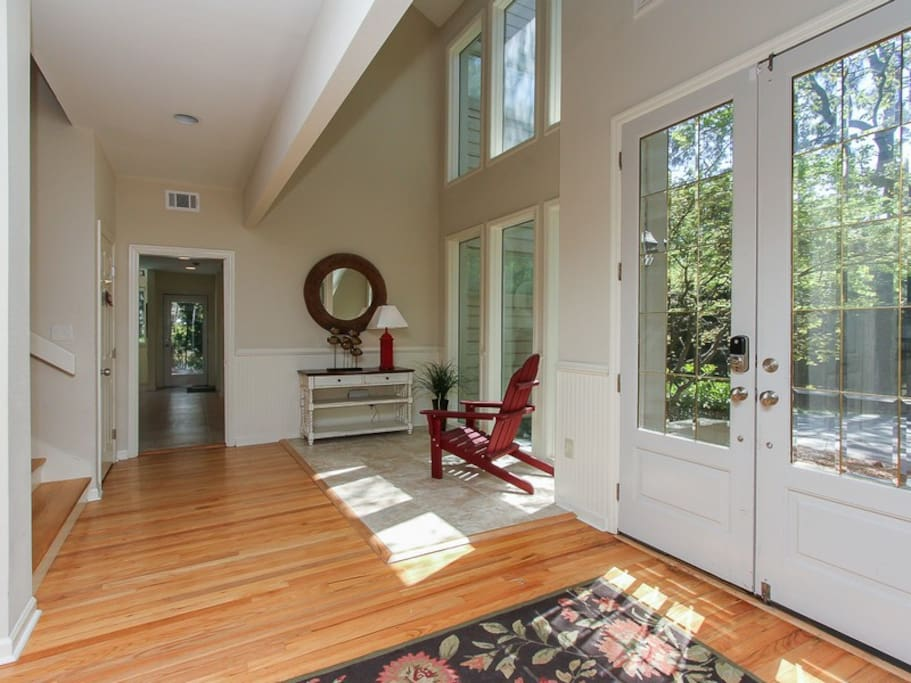 Entry and Foyer at 12 Black Tern